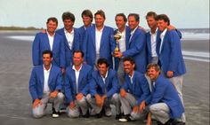 """Ryder Cup Memories: 1991 Kiawah Island """"War by the Shore"""" by Jim War President of Premier Golf"""