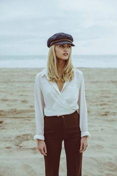 beabddac33a89 retro newsboy cap baker boy hat outfit  women shatstyles Brixton Fiddler Cap