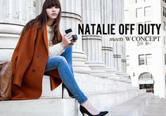 Natalie Off Duty: W CONCEPT LOOKBOOK// OUT NOW