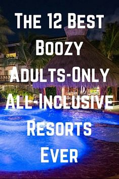 One way to ensure a stress-free vacation is to head to an all-inclusive resort where you don't have to reach for your credit card every time you want a cocktail or burger with fries. And if you really want to up the relaxing vibe of a vacation, limit the possibility of kids running around the property or splashing in the pool by booking an adults-only stay. We found the best of the best adults-only and all-inclusive resorts for a booze-filled trip -- whether you're looking to party at the…