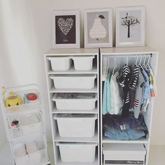 関連画像 Kid Closet, Kid Spaces, Montessori, Baby Room, Kids Room, Nursery, Children, Home Decor, Child Room