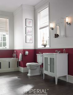 Radcliffe Linea 2 door vanity unit white. #imperialbathrooms #luxurybathroom #madeinengland