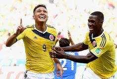 Colombia dances Greece into the ground : At the start of the Group C Colombia manages a convincing victory in the 2014 World Cup. Three goals to shoot the S