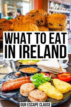 The Best Food in Ireland: What to Eat + Experience - Our Escape Clause - Wondering what to eat in Ireland? From tradiitional Irish dishes to fun foodie experiences, we've rounded up exactly what to eat in Ireland here! best food in ireland Ireland Food, Cork Ireland, Aran Islands Ireland, Castles In Ireland, Ireland Hotels, Ireland With Kids, Ireland Fashion, Ireland Travel Guide, Celtic Art