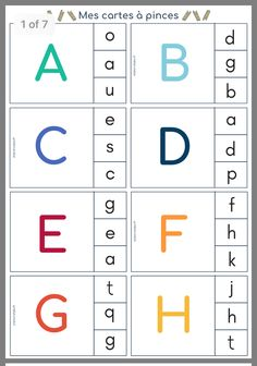 Preschool Writing, Numbers Preschool, Preschool Lessons, Printable Alphabet Worksheets, Phonics Worksheets, Alphabet Book, Learning The Alphabet, 1st Grade Reading Worksheets, Life Skills Kids