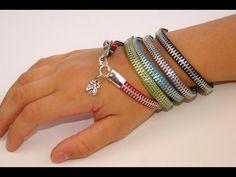 DIY Zipper Bracelet | Back-to-School Fashion Ideas