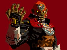 Ganondorf illustration -