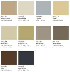 Our Naturally Neutral collection is sophisticated and authentic. How would you incorporate these colors into your National Painting Week project? #NPW2012