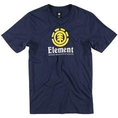 ELEMENT Vertical SS Boys tee-shirt indigo blue - russet red 20,00 € #skate #skateboard #skateboarding #streetshop #skateshop @playskateshop