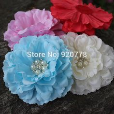 Cheap flower promotions, Buy Quality flower angle directly from China flower sun flower Suppliers:        Girls fashion satin ribbon rosettes flowers Polka Dot chiffon flower head cute shoe& costumes accessories 3