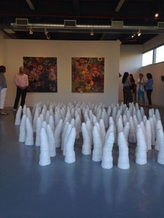 Michael Drury Charles Geiger Melinda Hackett Lina Puerta Sylvia Schwartz Artist Exhibition Eden Opening Odetta Gallery Bushwick Brooklyn New York