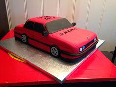 BMW cake, Car cake, birthday cake