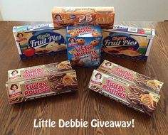 New Giveaway!!   Some awesome Little Debbie treats featuring Fudge Rounds! (Enter through 7/15).  http://www.coupondad.net/little-debbie-giveaway-featuring-fudge-rounds/