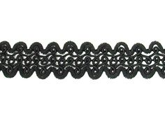 "Fancy Gimp Trim 665 - 3/4"" wide. 100% rayon. Sold by the yard."