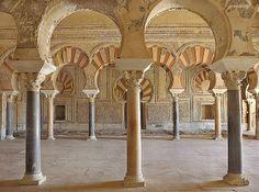 Interior Palacio de Abd al-Rahman III salón rico