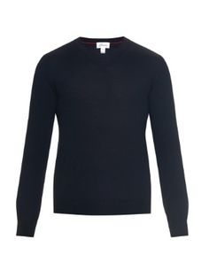 Wool, silk and cashmere-blend sweater  | Brioni