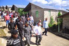 DE LA ZANJA : Comisión visita casas Montellano