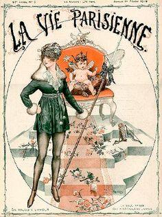 Chéri Hérouard (1881 – 1961). La Vie Parisienne, 1 Février 1919. [Pinned 21-vii-2015]