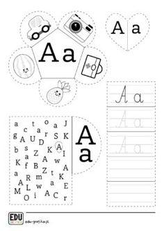 Montessori, Teaching Aids, Alphabet Activities, Kindergarten Worksheets, Kids Learning, Exercises, Teacher, Platform, Lettering