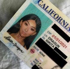 Nikita Dragun's drivers license picture is everything! Drivers License Pictures, Passport Pictures, Id Photo, License Photo, Clear Lip Gloss, Photo Dump, California, Mug Shots, Head Shots
