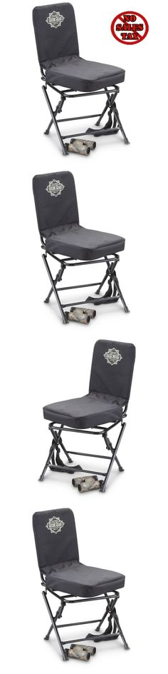 Seats and Chairs 52507: Hunting Seat Chair Portable Folding Stool Swivel Stool Turkey Deer Camping Yard -> BUY IT NOW ONLY: $37.99 on eBay!