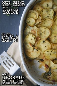 Stop fucking around with mediocre mashed potatoes and pick up this superb side dish.