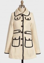The holy grail of fall jackets. :)  bardot coat by Knitted Dove