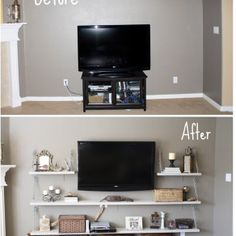 Replace Media Shelves | Learnist