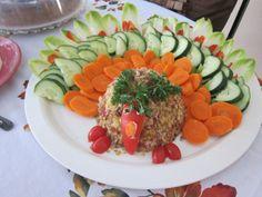 Thanksgiving veggie platter
