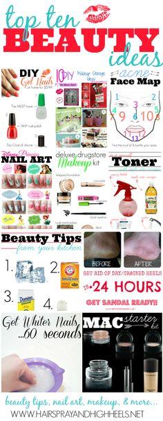 top ten beauty ideas