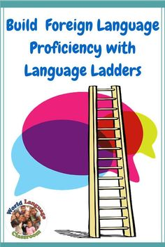 Build Foreign Language Proficiency with Language Ladders (French, Spanish)… French Teacher, Teaching French, Teaching Spanish, Spanish Teacher, Teaching Reading, Foreign Language Teaching, Language Study, Spanish Language, French Language
