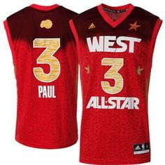 95a0cb7a3 Los Angeles Clippers 3 Chris Paul 2012 West All Star NBA Jerseys Wholesale  Cheap
