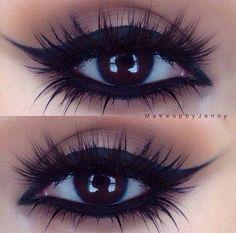 Maquillaje muy bonito y sencillo para los ojos