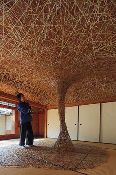 #Willow #Bamboo #Weaving #Sculpture #Exhibition #Installation