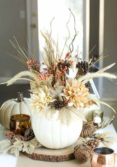 Ways to Use Pumpkins in Your Centerpiece