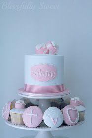 Blissfully Sweet: Pink & White Cupcake Set