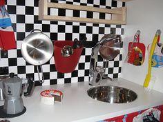 """IKEA Hackers: """"McQueen"""" play kitchen"""