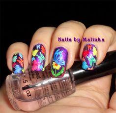 Nails by Malinka: Born Pretty plate BP-34