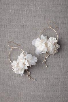 ivory Ikebana Earrings | BHLDN