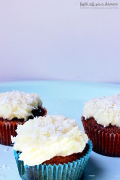 fight off your demons- Sommerliche White Chocolate Muffins²