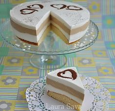Tort Latte Macchiato Latte Macchiato, Good Food, Yummy Food, Delicious Deserts, Cake Decorating, Bakery, Food And Drink, Dessert Recipes, Cooking Recipes