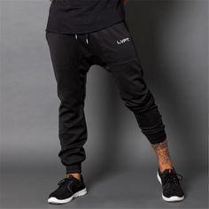 New Men gold joggers fitness Pants Casual Elastic cotton Mens Fitness Workout Pants skinny Sweatpants Trousers Jogger Pants #shoes, #jewelry, #women, #men, #hats, #watches, #belts
