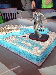 Elvis Presley Birthday Cake!