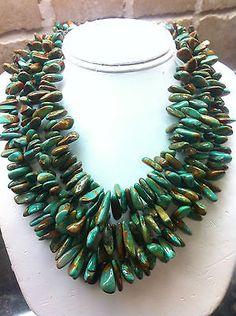 Royston Turquoise beads