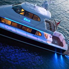 James Russ worked on this elite super yacht to create lighting with crisp finishes. Ekara is a stunning example of how James Russ can adapt to different environments to create exceptionally clean, functional lighting. Motor Yachts, Deck Boat, Below Deck, Super Yachts, Open Water, Jet Ski, Fresh Water, Boats, Crisp