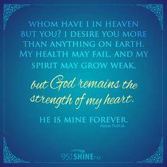 Psalms 73:25-26