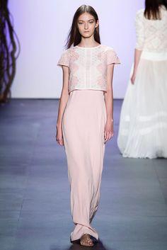 Tadashi Shoji at New York Fashion Week Spring 2016 - Runway Photos New York Fashion, Runway Fashion, Fashion Show, Tadashi Shoji, Bridesmaid Dresses, Wedding Dresses, Spring Summer 2016, Ready To Wear, Celebs