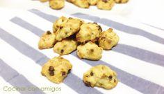 Cocinar con amigos: Galletas de plátano y mandarina con chocolate {#asaltablogs Invisible}