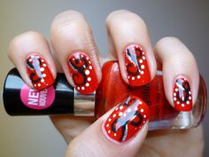 Nails by Carol: WnW Megalast 'I Red a Good Book' with Nail Art