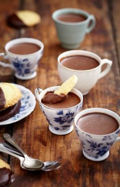Recipe of the Week - Decadent Chocolate Cups - Life Retreat Chocolate Cups, Decadent Chocolate, Cocoa Recipes, Chocolate Recipes, Nutella, Baking Scones, Delicious Desserts, Dessert Recipes, Tea And Crumpets